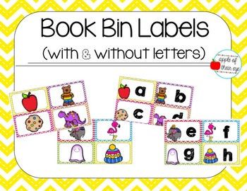 Book Basket Labels