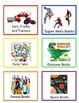 Book Basket Labels General