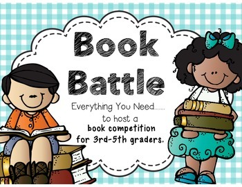 Book Battle a Battle of the Books inspired Competition for