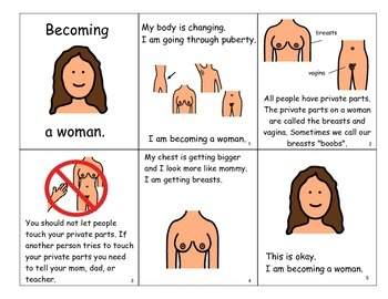 """Book: """"Becoming a Woman"""" - Puberty for Girls"""