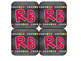Book Bin Labels by Level | Word Wall Cards | Chalkboard &