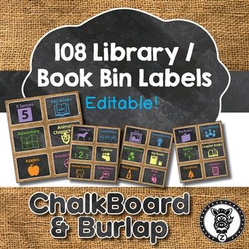 Book Bin / Library Labels