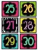 Book Box Labels {1-30} Set 5