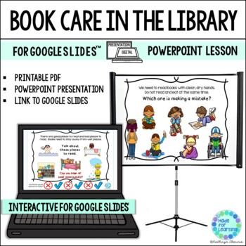 Taking Care of our Library Books...A Powerpoint Lesson