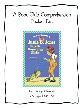 Book Club Comprehension Packet for Junie B Jones Smells So