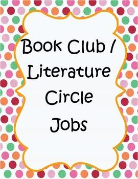Book Club (Literature Circle)- Fiction