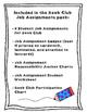 Book Club Job Assignments