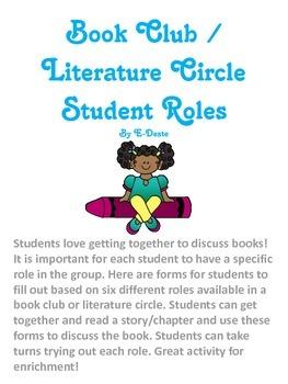 Book Club / Literature Circle