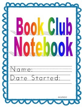 Book Club Notebook - Differentiated