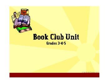 Book Club Unit Grade 4