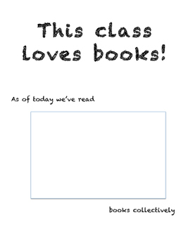 Book Count Poster