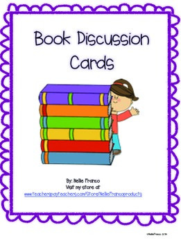 Book Discussion Cards