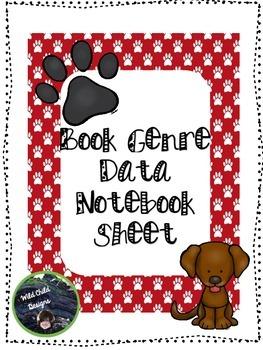 Book Genre Data Notebook Record Sheet