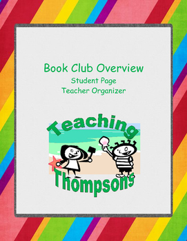 Book Group Overview