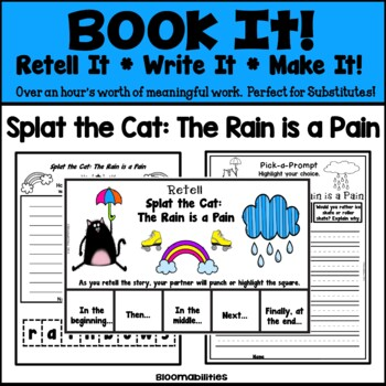 Book It: Retell It, Write It, Make It! (Splat the Cat: The