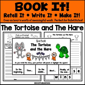 Book It: Retell It, Write It, Make It! (The Tortoise and T