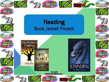 Novel Study: Book Jacket Project