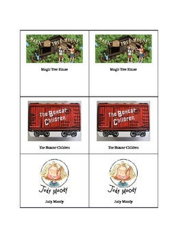 Book Labels Magic Tree House