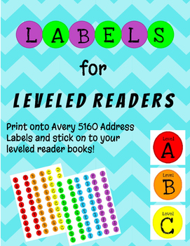 Book Labels for Leveled Readers