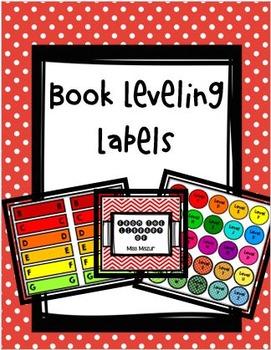 Book Leveling Label Kit
