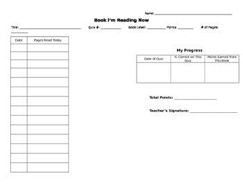 Book Log for AR