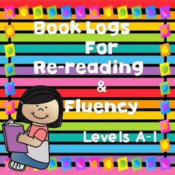 Book Logs for Re-Reading & Fluency!