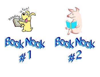 Book Nook Signs 1&2