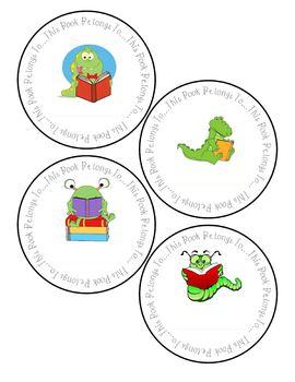 Book Plates for teachers