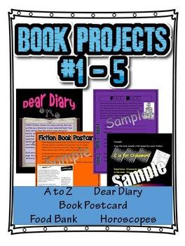 Book Projects 1 Thru 5