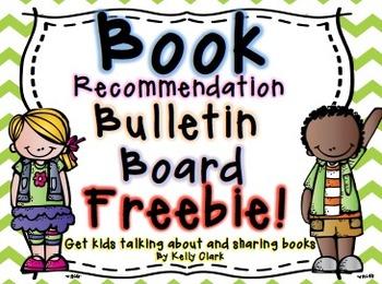 Book Recommendation Bulletin Board FREEBIE