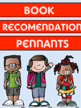 FREEBIE -Book Recommendation Pennant
