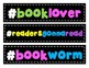 Book Recommendations Mini Bulletin Board Set with Book Tracker