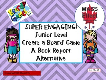 Book Report - Board Game Unit