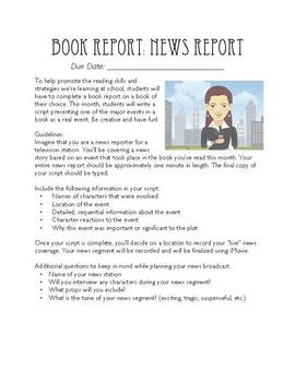 Book Report Bundle