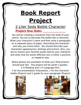Book Report Character