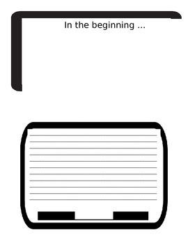 Book Report Computer Screen