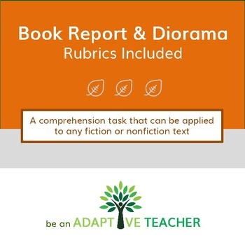 Book Report & Diorama Project