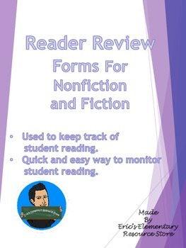 Book Report Essential Questions Reading Forms