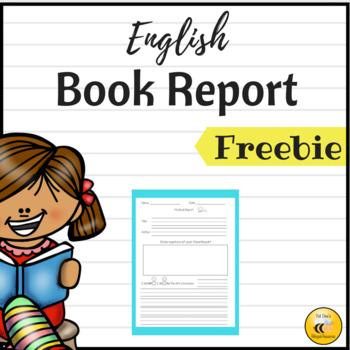 Book Report {Freebie}