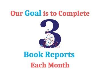 Book Report Goal