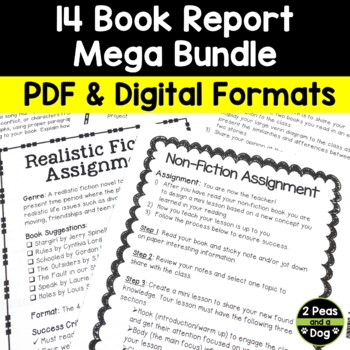 Book Report Mega Bundle