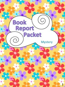 Book Report Packet - Mystery PDF