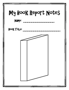 Book Report Reader Response