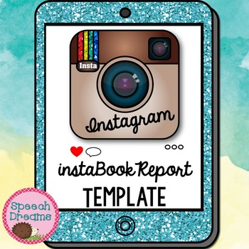 Instagram Book Report Template {Reading Classroom Fun}