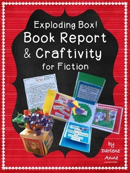 BOOK REPORT AND CRAFTIVITY FOR INDEPENDENT FICTION READING