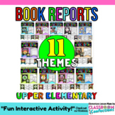 Fun Book Reports Pack: Book Reviews: Book Report Templates Forms