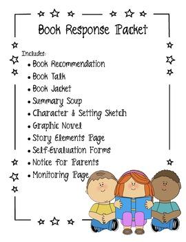 Book Response Packet