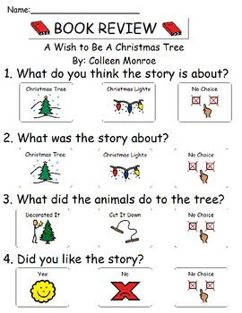Book Review - A Wish To Be A Christmas Tree