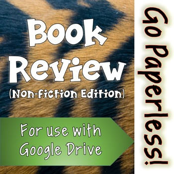 Book Review Activity: NON-FICTION edition for use with Goo