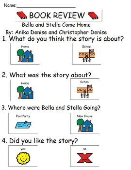 Book Review - Bella and Stella Come Home